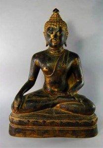 Thai bronze figure
