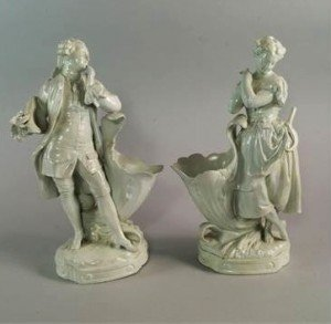 Continental porcelain figures