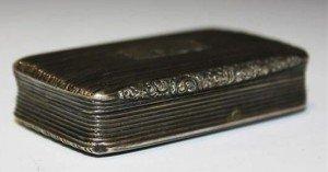 silver snuff box,