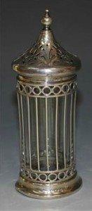 silver sugar caster