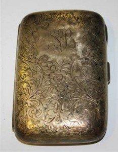 silver cigar case