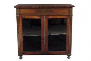 rosewood side cabinet