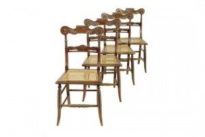 rosewood side chairs