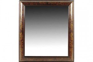 marquetry wall mirror