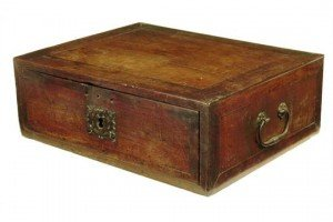 travelling writing box