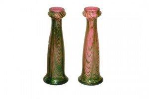 cased glass vases