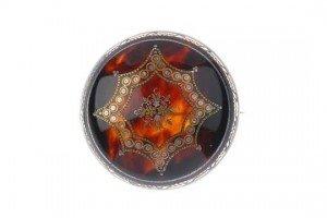 tortoiseshell brooch