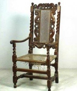 oak carver chair