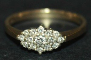 shaped cluster ring