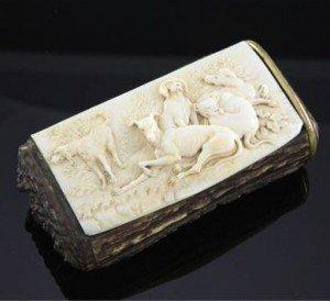 ivory snuff box