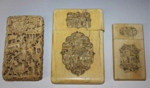 rectangular card case