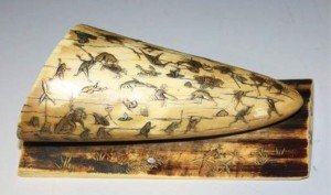 ivory tusk paperweight