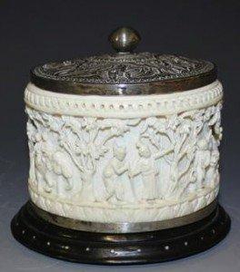 ivory tusk box