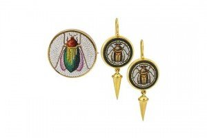 Revival style earrings