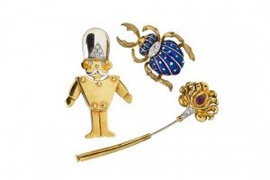 toy soldier brooch