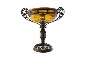 twin handled centrepiece