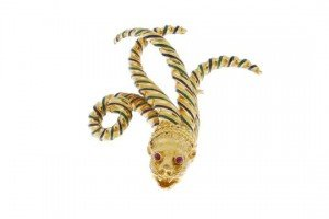 sea lion brooch