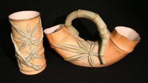 Double Spill Vase