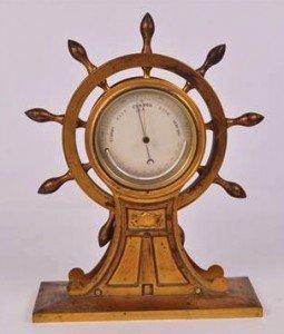 metal barometer