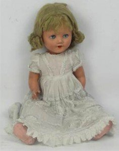 composite headed doll