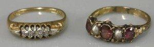 diamond boat shaped ring