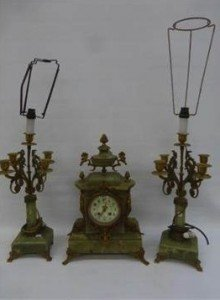 garniture clock
