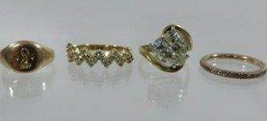 gem set ring