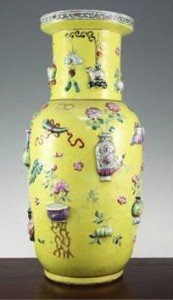 Hundred Antiques' vase