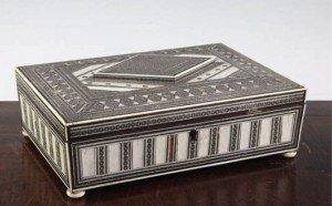rectangular work box