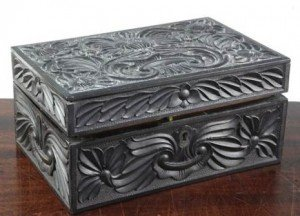 ebony work box