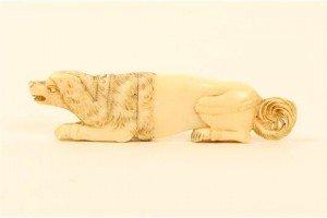 carved ivory needlecase