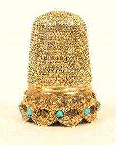gold thimble
