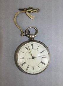 Wind Fusee Pocket Watch