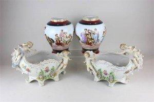 porcelain baskets
