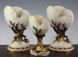 'nautilus shell' vases