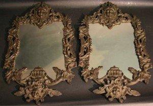 Iron Wall Mirrors