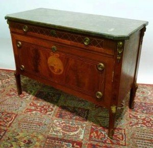 Marquetry Inlaid Commode