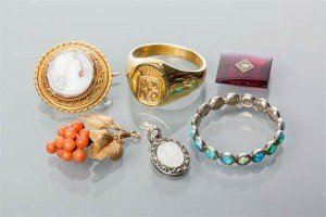various jewellery