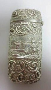 silver Cheroot Case