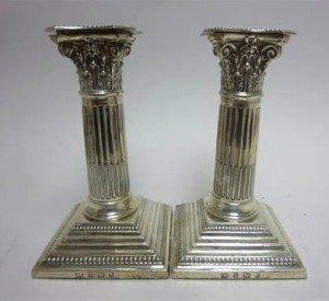 Pillar Candlesticks