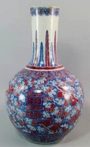 porcelain bottle vase