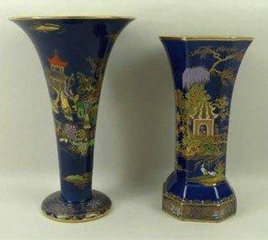 vase of trumpet form