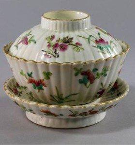 porcelain fluted bowl,
