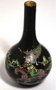 noire bottle vase