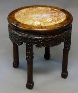 rosewood occasional table