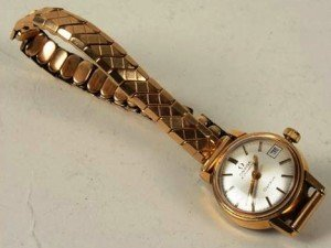 Automatic lady's wristwatch