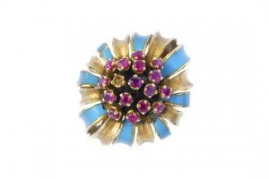 enamel dress ring