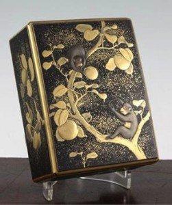 lacquer rectangular box