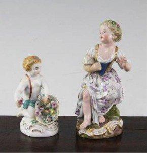 Meissen figures