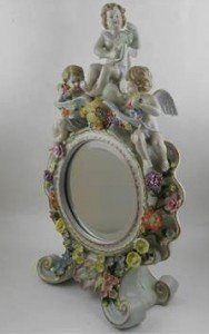 porcelain table mirror
